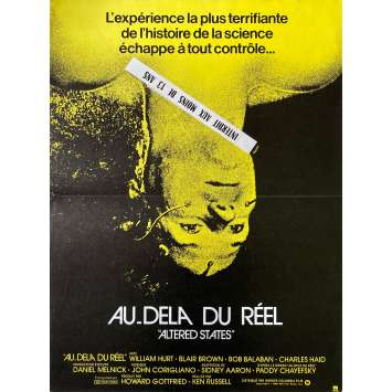 AU DELA DU REEL Affiche de film - 40x60 cm. - 1980 - William Hurt, Ken Russel