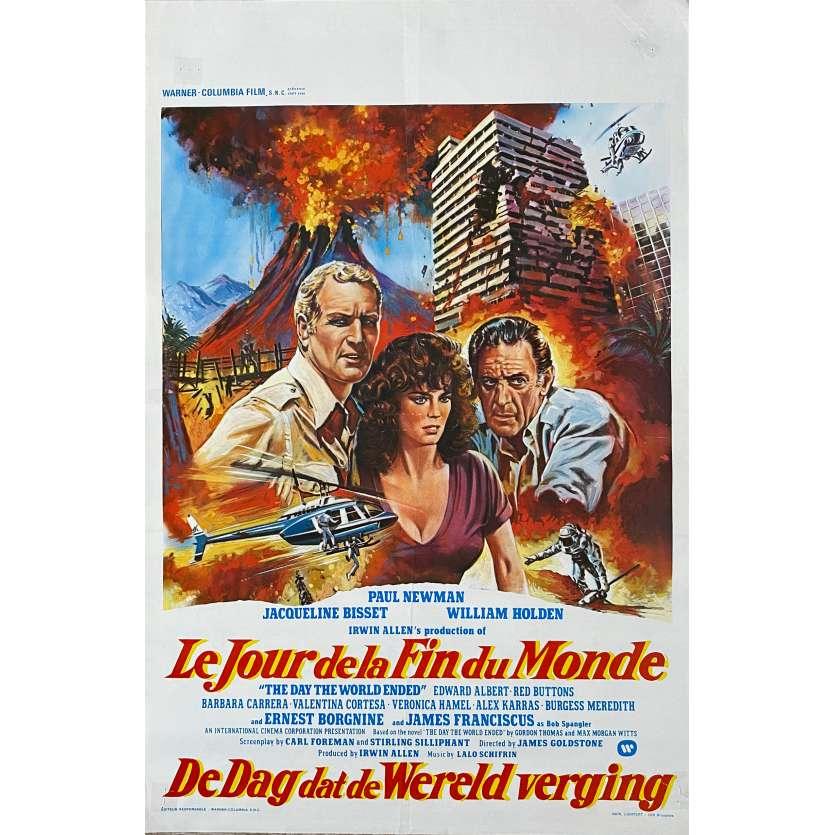 LE JOUR DE LA FIN DU MONDE Affiche de film - 35x55 cm. - 1980 - Paul Newman, James Goldstone