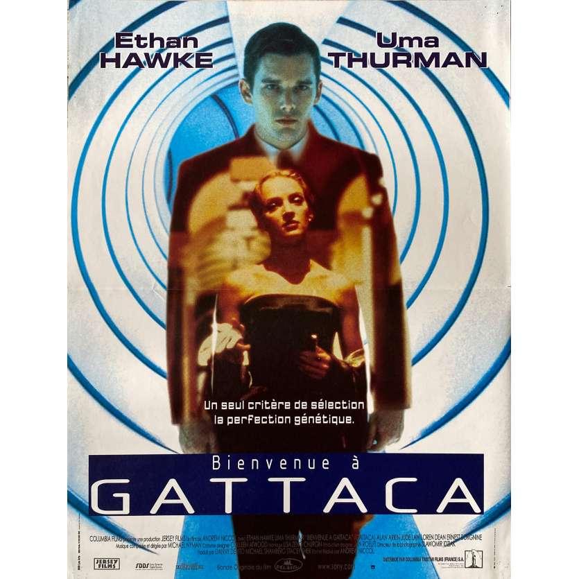 BIENVENUE A GATTACA Affiche de film - 40x60 cm. - 1997 - Ethan Hawke, Andrew Niccol