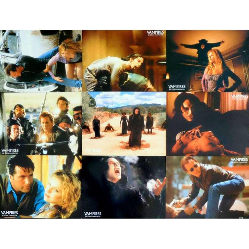 VAMPIRES French Lobby Cards 9x12 - 1998 - John Carpenter, James Woods