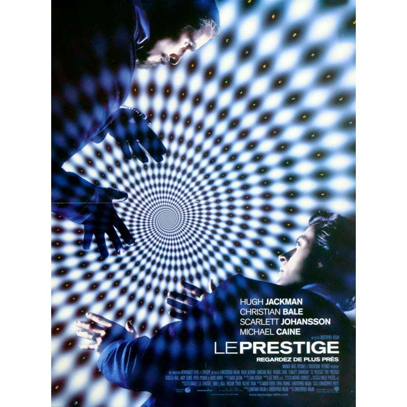 THE PRESTIGE French Movie Poster 15x21 - 2006 - Christopher Nolan, Christian Bale