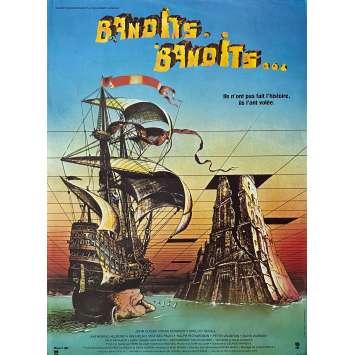 BANDITS BANDITS Affiche de film - 40x60 cm. - 1981 - Sean Connery, Terry Gilliam