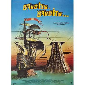 TIME BANDITS Original Movie Poster - 15x21 in. - 1981 - Terry Gilliam, Sean Connery
