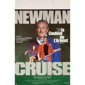 LA COULEUR DE L'ARGENT Affiche de film - 40x60 cm. - 1986 - Paul Newman, Martin Scorsese
