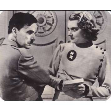LE DICTATEUR Ekta - 6x6 cm. - 1940 - Paulette Goddard, Charles Chaplin