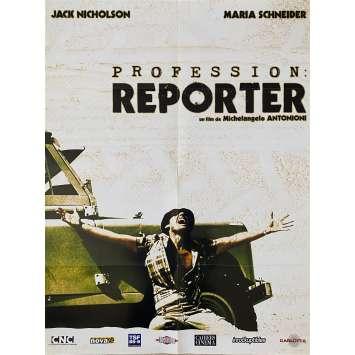 PROFESSION REPORTER Affiche de film - 60x80 cm. - 1975 - Jack Nicholson, Michelangelo Antonioni