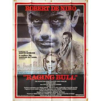 RAGING BULL Original Movie Poster - 47x63 in. - 1980 - Martin Scorsese, Robert de Niro