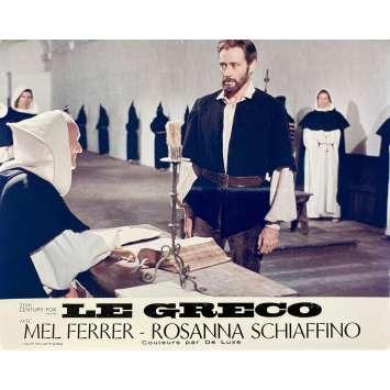 LE GRECO Photo de film N01 - 24x30 cm. - 1966 - Mel Ferrer, Luciano Salce
