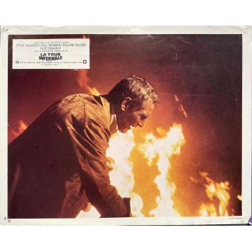 LA TOUR INFERNALE Photo de film N01 - 24x30 cm. - 1974 - Steve McQueen, John Guillermin