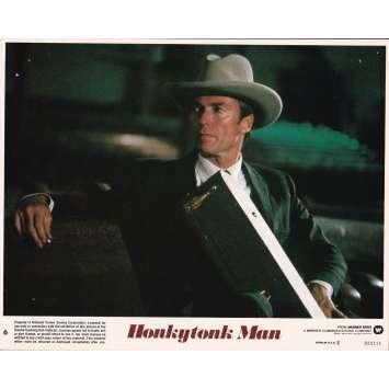 HONKYTONK MAN Photo de film N6 - 20x25 cm. - 1982 - Clint Eastwood, Clint Eastwood