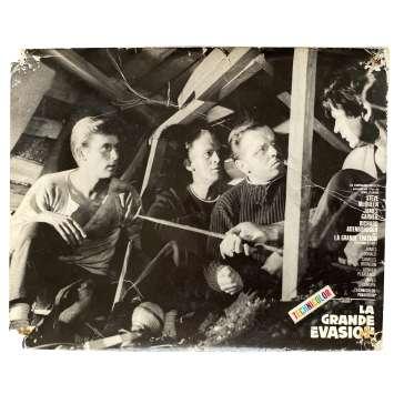 LA GRANDE EVASION Photo de film N02 - 24x30 cm. - 1963 - Steve McQueen, John Sturges
