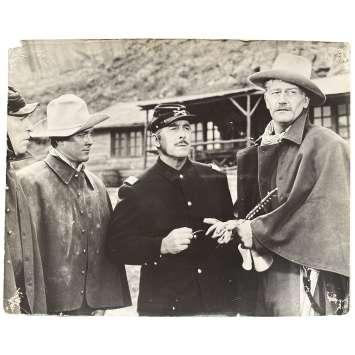 LA CHARGE HEROIQUE Photo de film N05 - 24x30 cm. - 1949 - John Wayne, John Ford