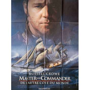 MASTER AND COMMANDER Original Movie Poster - 47x63 in. - 2003 - Peter Weir, Russell Crowe