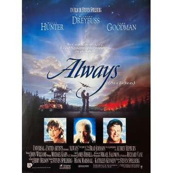 ALWAYS Affiche de film - 40x60 cm. - 1989 - Richard Dreyfuss, Steven Spielberg