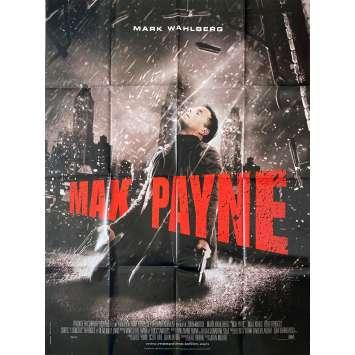 MAX PAYNE Original Movie Poster - 47x63 in. - 2008 - John Moore, Mark Wahlberg