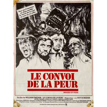 SORCERER LE CONVOI DE LA PEUR Affiche de film - 40x60 cm. - 1977 - Roy Sheider, William Friedkin