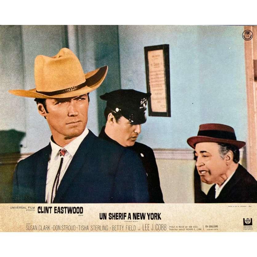 UN SHERIF A NEW YORK Photo de film N02 - 24x30 cm. - 1968 - Clint Eastwood, Don Siegel