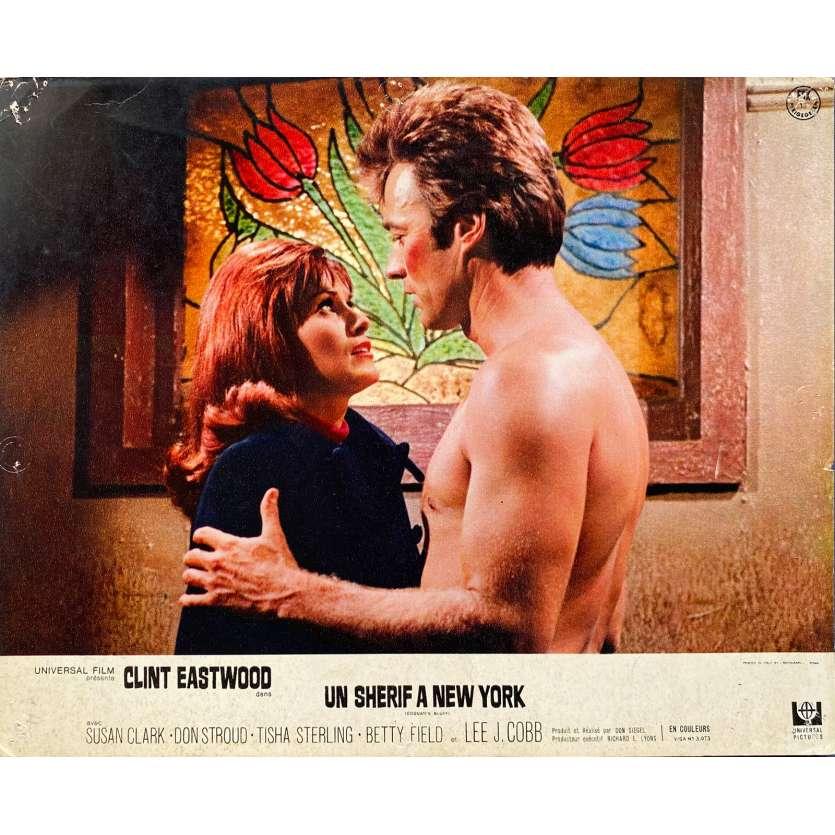 UN SHERIF A NEW YORK Photo de film N03 - 24x30 cm. - 1968 - Clint Eastwood, Don Siegel