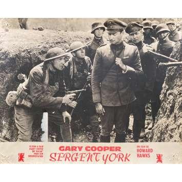 SERGEANT YORK Original Lobby Card N01 - 10x12 in. - 1941 - Howard Hawks, Gary Cooper