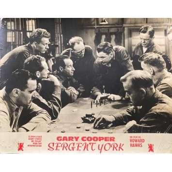 SERGEANT YORK Original Lobby Card N02 - 10x12 in. - 1941 - Howard Hawks, Gary Cooper