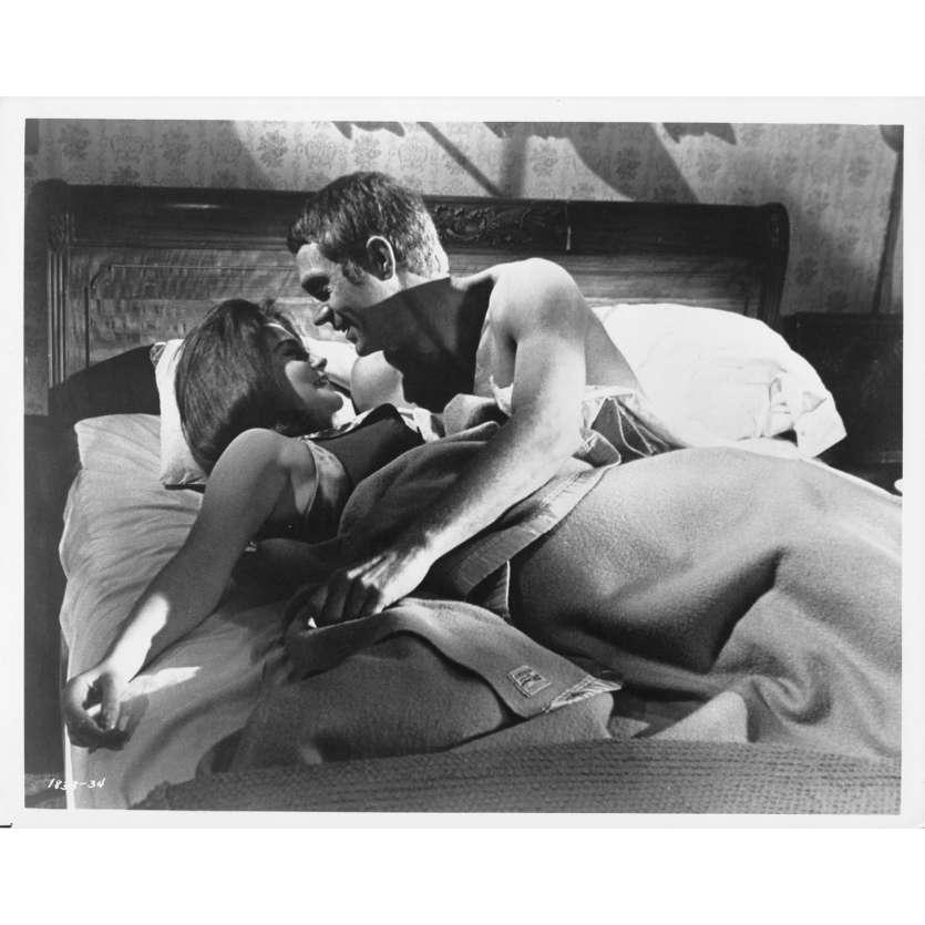 LE KID DE CINCINNATI Photo de presse - 20x25 cm. - 1966 - Steve McQueen, Norman Jewinson