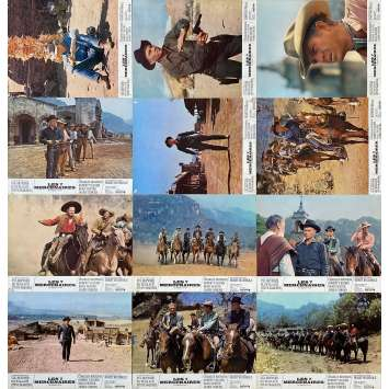 MAGNIFICENT SEVEN Original Lobby Cards x12 - 9x12 in. - 1960 - Yul Brynner, Steve McQueen
