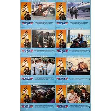 TOP GUN Original Lobby Cards - 11x14 in. - 1986 - Tony Scott, Tom Cruise