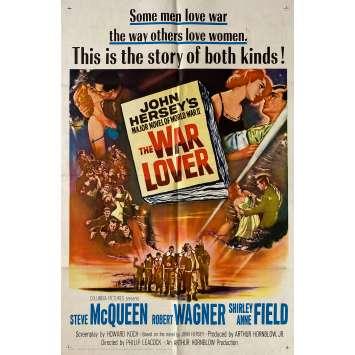 L'HOMME QUI AIMAIT LA GUERRE Affiche de film - 69x104 cm. - 1962 - Steve McQueen, Robert Wagner, Philip Leacock