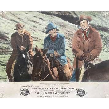 JE SUIS UN AVENTURIER Photo de film - 24x30 cm. - 1954 - James Stewart, Anthony Mann