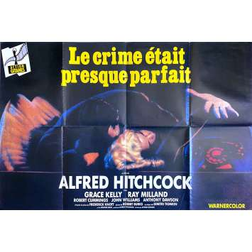 DIAL M FOR MURDER Original Movie Poster - 47x63 in. - R1970 - Alfred Hitchcock, Grace Kelly