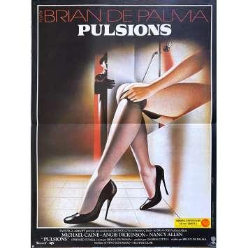 PULSIONS Affiche de film - 40x60 cm. - 1980 - Michael Caine, Brian de Palma