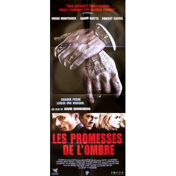 LES PROMESSES DE L'OMBRE Affiche de film - 60x160 cm. - 2007 - Viggo Mortensen, David Cronenberg