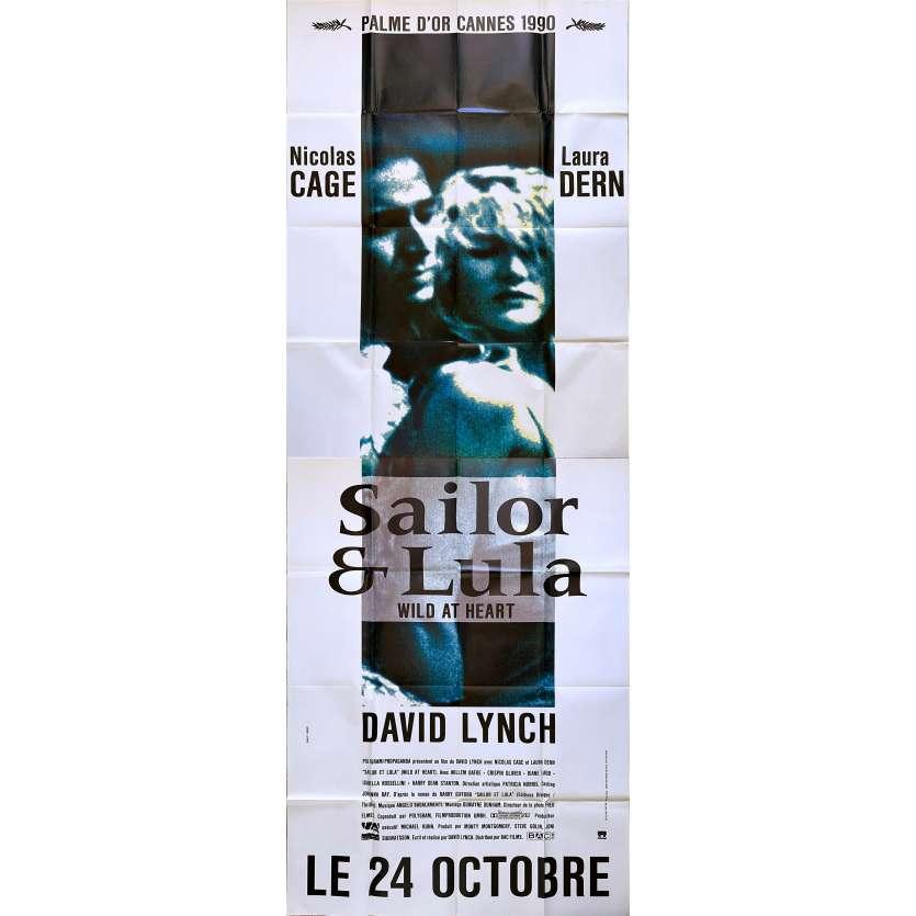 WILD AT HEART Original Movie Poster - 59x138 in. - 1990 - David Lynch, Nicolas Cage