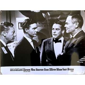 THE BEST MAN Original Lobby Card N1 - 10x12 in. - 1964 - Franklin J. Schaffner, Henry Fonda