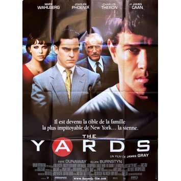 THE YARDS Original Movie Poster - 47x63 in. - 2000 - James Gray, Joaquim Phoenix