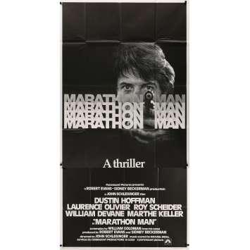 MARATHON MAN Affiche de film - 104x206 cm. - 1976 - Dustin Hoffman, John Schlesinger