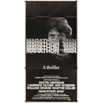 MARATHON MAN Original Movie Poster - 41x81 in. - 1976 - John Schlesinger, Dustin Hoffman