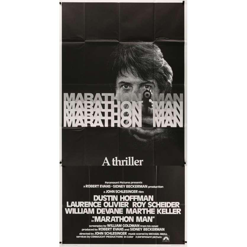 MARATHON MAN Original Movie Poster - 41x81 in. - 1976 - John Schlesinger, Dustin Hoffman
