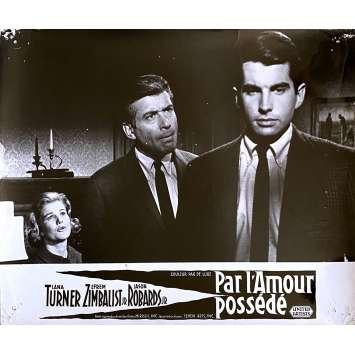 BY LOVE POSSESSED Original Lobby Card N1 - 10x12 in. - 1961 - John Sturges, Lana Turner, Jason Robards