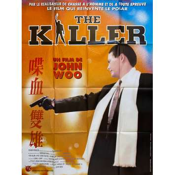 THE KILLER Original Movie Poster - 47x63 in. - 1989 - John Woo, Chow Yun-Fat