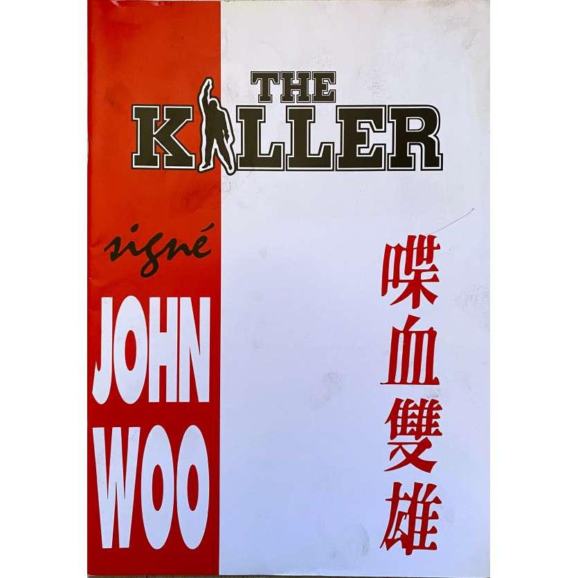 THE KILLER Original Pressbook - 47x63 in. - 1989 - John Woo, Chow Yun-Fat