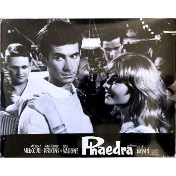 PHAEDRA Original Lobby Card N1 - 10x12 in. - 1962 - Jules Dassin, Melina Mercouri, Anthony Perkins