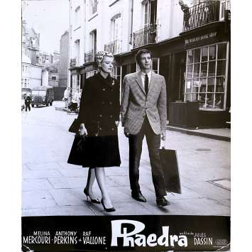 PHEDRE Photo de film N2 - 24x30 cm. - 1962 - Melina Mercouri, Anthony Perkins, Jules Dassin