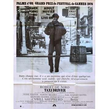 TAXI DRIVER Affiche de cinéma - 120x160 cm. - 1976 - Robert de Niro, Martin Scorsese