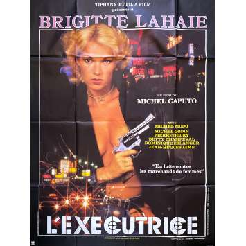 L'EXECUTRICE Affiche de film - 120x160 cm. - 1986 - Brigitte Lahaie, Michel Caputo