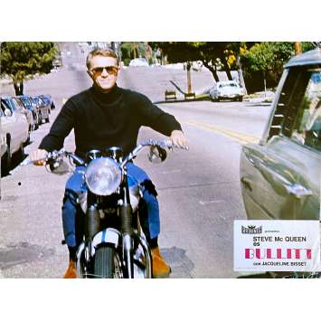 BULLITT Photo de film - 21x30 cm. - 1968 - Steve McQueen, Peter Yates