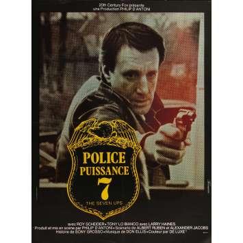 THE SEVEN-UPS Original Movie Poster - 23x32 in. - 1973 - Philip D'Antoni, Roy Scheider