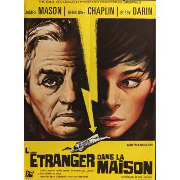 UN ETRANGER DANS LA MAISON Affiche de film - 60x80 cm. - 1967 - James Mason, Geraldine Chaplin, Pierre Rouve