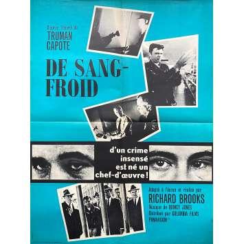 DE SANG FROID Affiche de film - 60x80 cm. - 1967 - Robert Blake, Richard Brooks