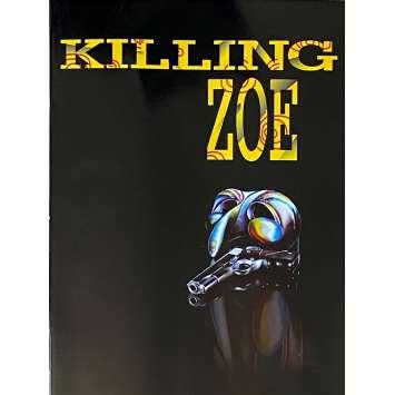 KILLING ZOE Original Pressbook - 47x63 in. - 1993 - Roger Avary, Eric Stoltz, Julie Delpy